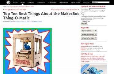 http://www.makerbot.com/blog/2011/04/05/top-ten-best-things-about-the-makerbot-thing-o-matic/