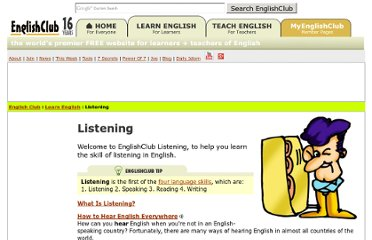 http://www.englishclub.com/listening/index.htm