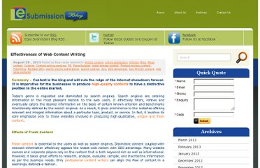 http://blog.easysubmission.net/effectiveness-of-web-content-writing/