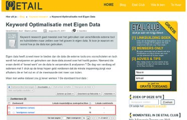 http://www.e-tail.be/keyword-optimalisatie/