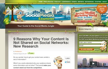 http://www.socialmediaexaminer.com/9-reasons-why-your-content-is-not-shared-on-social-networks-new-research/