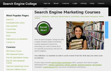 http://www.searchenginecollege.com/search-engine-marketing-courses/