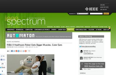 http://spectrum.ieee.org/automaton/robotics/medical-robots/riba-ii-healthcare-robot-gets-bigger-muscles-cuter-ears