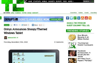 http://techcrunch.com/2010/11/25/onkyo-announces-snoopy-themed-windows-tablet/