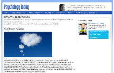 http://www.psychologytoday.com/articles/200710/dreams-night-school