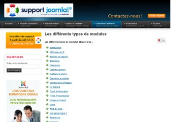 http://www.support-joomla.com/construire-son-site/les-modules/les-differents-modules