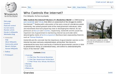 http://en.wikipedia.org/wiki/Who_Controls_the_Internet%3F