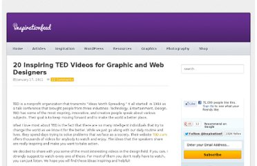 http://inspirationfeed.com/inspiration/video-inspiration/20-inspiring-ted-videos-for-graphic-and-web-designers/