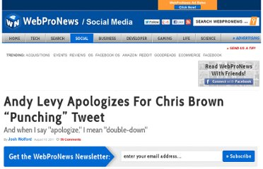 http://www.webpronews.com/andy-levy-chris-brown-punching-tweet-2011-08