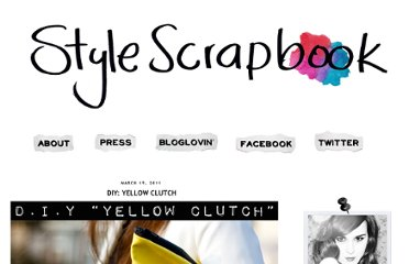 http://www.stylescrapbook.com/2011/03/diy-yellow-clutch.html