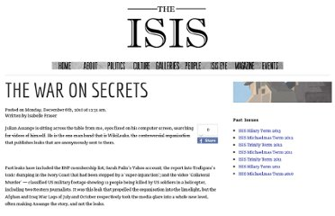 http://isismagazine.org.uk/2010/12/the-war-on-secrets/