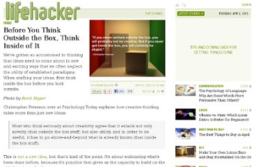 http://lifehacker.com/5684115/before-you-think-outside-the-box-think-inside-of-it