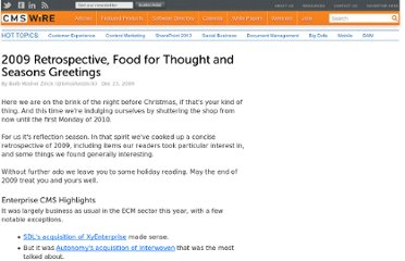 http://www.cmswire.com/cms/industry-news/2009-retrospective-food-for-thought-and-seasons-greetings-006276.php