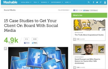http://mashable.com/2011/08/29/social-media-case-studies/