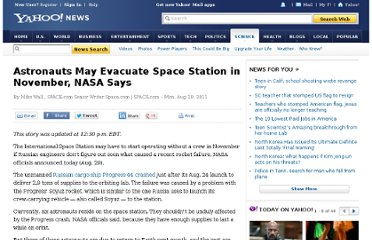 http://news.yahoo.com/astronauts-may-evacuate-space-station-november-nasa-says-155202734.html
