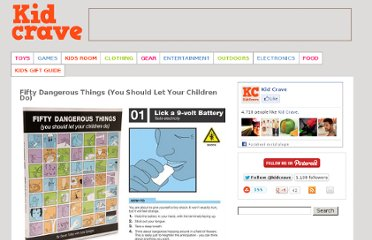 http://kidcrave.com/entertainment/fifty-dangerous-things-you-should-let-your-children-do/