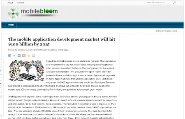 http://www.mobilebloom.com/the-mobile-application-development-market-will-hit-100-billion-by-2015/221953/