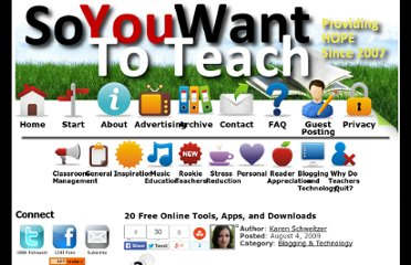 http://www.soyouwanttoteach.com/20-free-online-tools-apps-and-downloads/