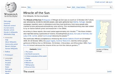 http://en.wikipedia.org/wiki/Miracle_of_the_Sun