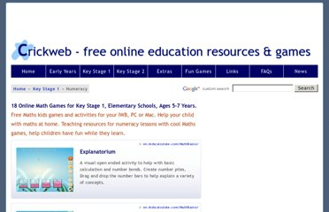 http://www.crickweb.co.uk/ks1numeracy.html