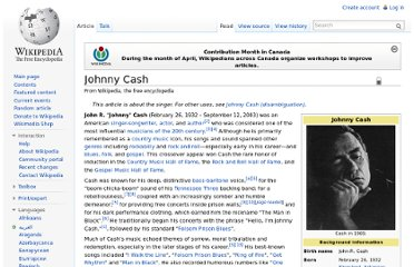 http://en.wikipedia.org/wiki/Johnny_Cash