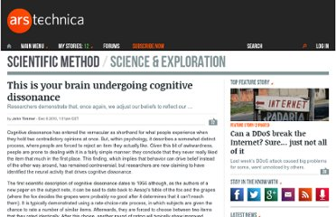 http://arstechnica.com/science/news/2010/12/this-is-your-brain-undergoing-cognitive-dissonance.ars