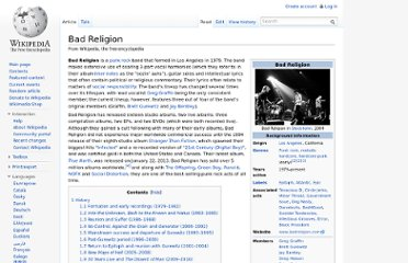 http://en.wikipedia.org/wiki/Bad_Religion