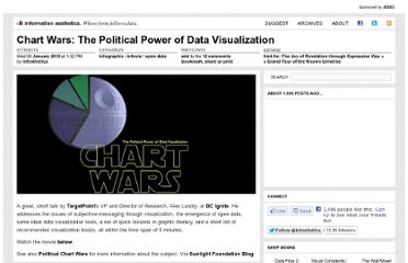 http://infosthetics.com/archives/2010/01/chart_wars_the_political_power_of_data_visualization.html