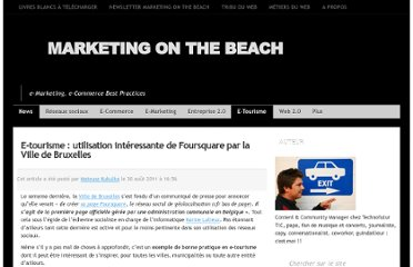 http://www.marketingonthebeach.com/foursquare-ville-bruxelles-etourisme-wallonie/