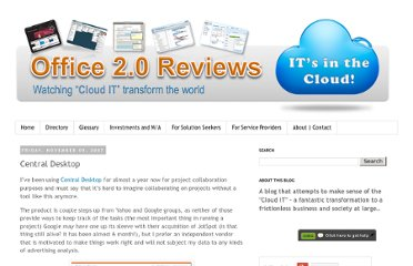 http://www.office2reviews.com/2007/11/central-desktop.html