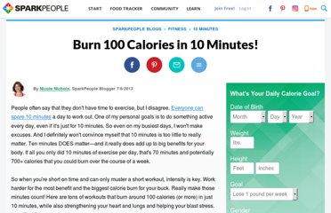 http://www.dailyspark.com/blog.asp?post=burn_100_calories_in_10_minutes