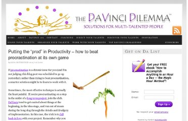 http://davincidilemma.com/2010/11/putting-the-prod-in-productivity-how-to-beat-procrastination-at-its-own-game/