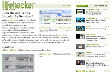 http://lifehacker.com/320618/better-gmail-2-firefox-extension-for-new-gmail