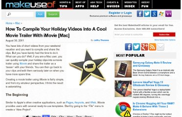 http://www.makeuseof.com/tag/compile-holiday-videos-cool-movie-trailer-imovie-mac/
