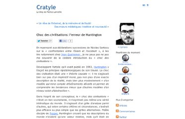 http://www.cratyle.net/fr/2007/11/17/choc-des-civilisations-lerreur-de-huntington/#comments