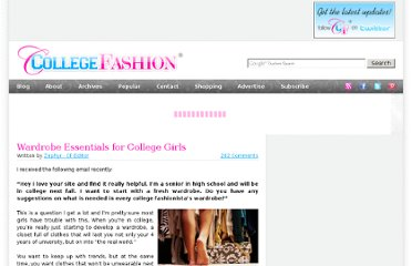 http://www.collegefashion.net/fashion-tips/wardrobe-essentials-for-college-girls/