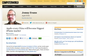 http://blogs.computerworld.com/18517/apple_crazy_china_will_become_biggest_iphone_market