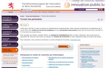 http://www.innovation.public.lu/fr/collaborations/trouver-partenaires/index.php