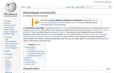 http://en.wikipedia.org/wiki/Intentional_community