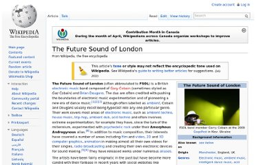 http://en.wikipedia.org/wiki/The_Future_Sound_of_London