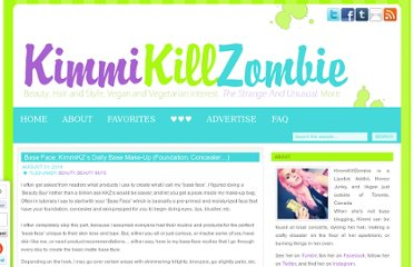 http://kimmikillzombie.killer-cosmetics.com/2010/08/base-face-kimmikzs-daily-base-make-up-foundation-concealer-products/