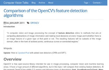 http://computer-vision-talks.com/2011/01/comparison-of-the-opencvs-feature-detection-algorithms-2/