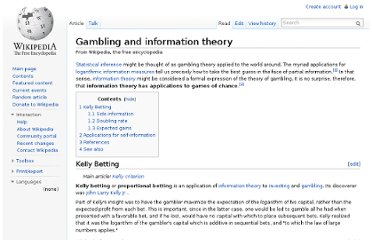 http://en.wikipedia.org/wiki/Gambling_and_information_theory
