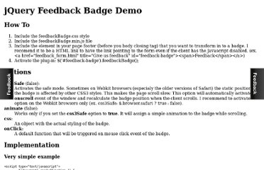 http://dumitruglavan.com/demo/jQuery-Feedback-Badge/demo.html