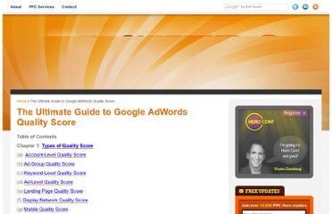 http://www.ppchero.com/ultimate-guide-to-adwords-quality-score/