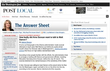 http://www.washingtonpost.com/blogs/answer-sheet/post/how-badly-did-arne-duncan-want-to-talk-to-matt-damon/2011/08/24/gIQArmIgbJ_blog.html#pagebreak