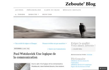 http://zeboute.wordpress.com/2010/09/17/paul-watzlawick-une-logique-de-la-communication/