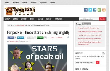 http://transitionvoice.com/2011/08/for-peak-oil-these-stars-are-shining-brightly/
