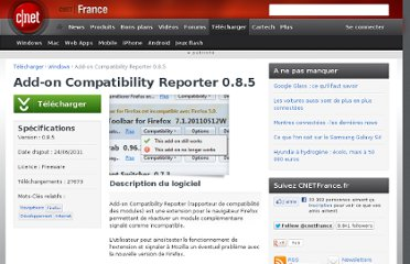 http://www.cnetfrance.fr/telecharger/add-on-compatibility-reporter-40098019s.htm