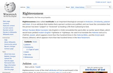 http://en.wikipedia.org/wiki/Righteousness